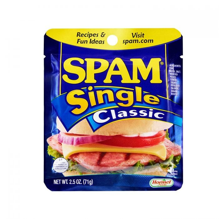 spam single pack