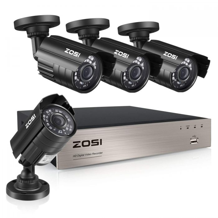 ZOSI 8-Channel Video Security System