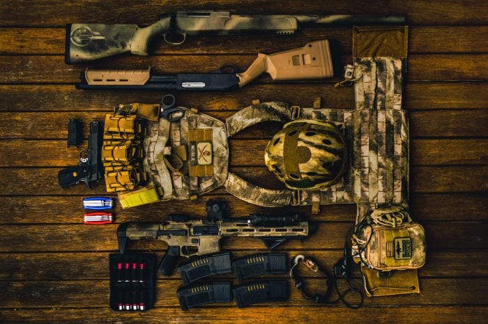 military gear from unsplash