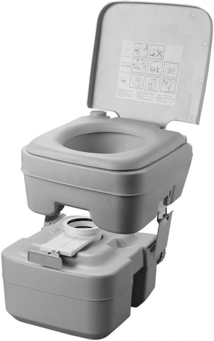 portable toilet bug out