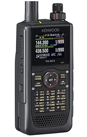 Kenwood Original TH-D74A 144:220:430 MHz Triband