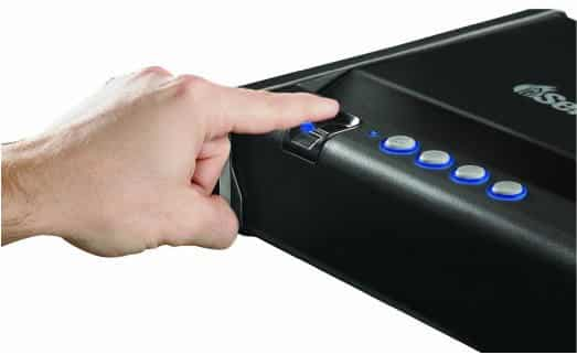 Sentry Safe Biometric Quick Access Pistol Safe