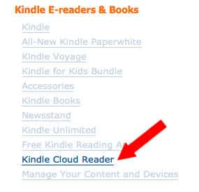 amazon cloud reader