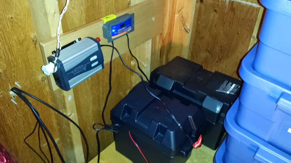 batteries inverter charge controller