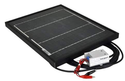 instapark 10w solar and charge controller