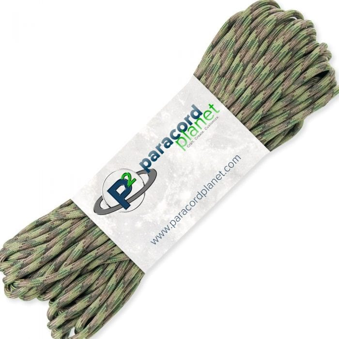 PARACORD PLANET 100′ Hanks Parachute 550 Cord Type
