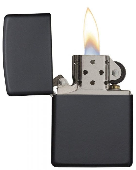 Zippo Matte Lighter in Black
