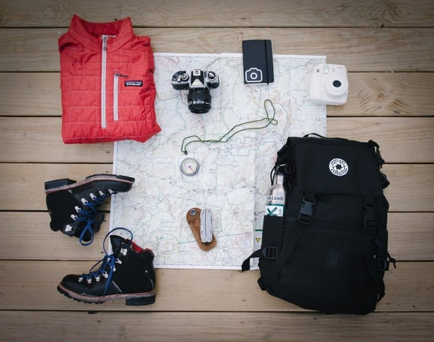backpack packing style