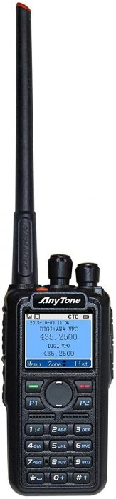 Anytone AT D868UV Handheld Ham Radio
