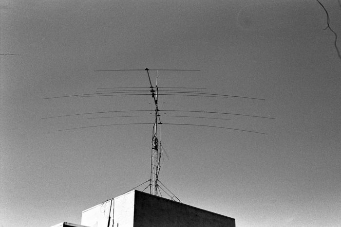 HF Antenna on top of House