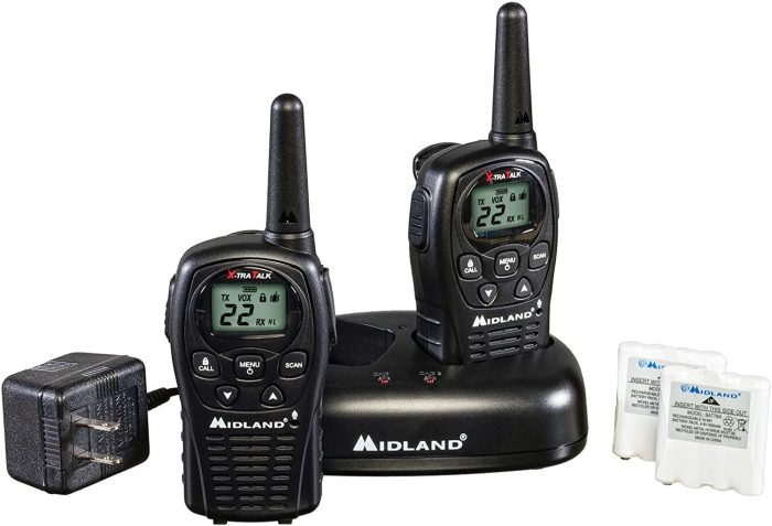 Midland 22 Channel FRS Walkie Talkies