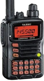 Yaesu-Tri-Band-VX-6R-Table