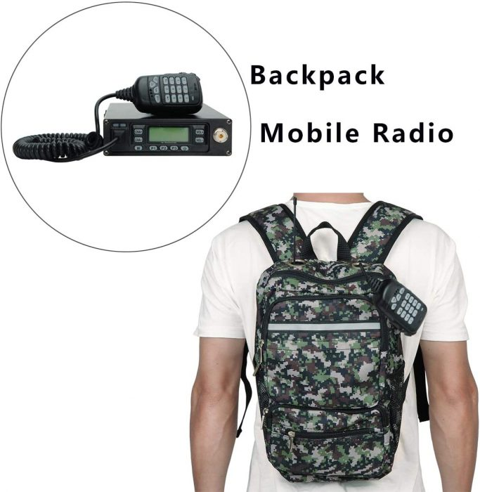 backpack mobile radio