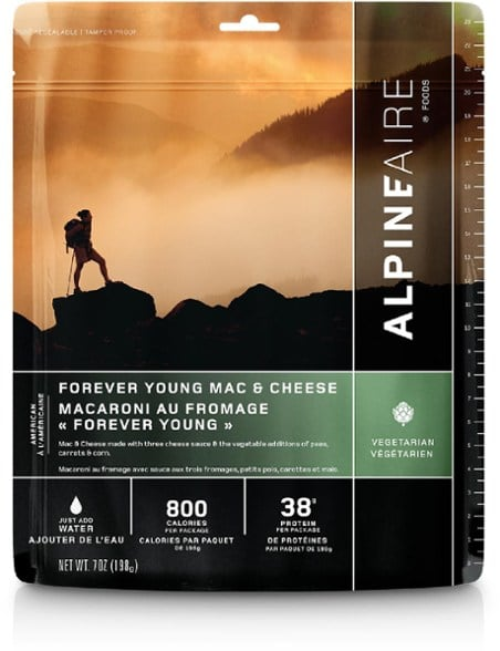 Mac and Cheeze dehydrated food