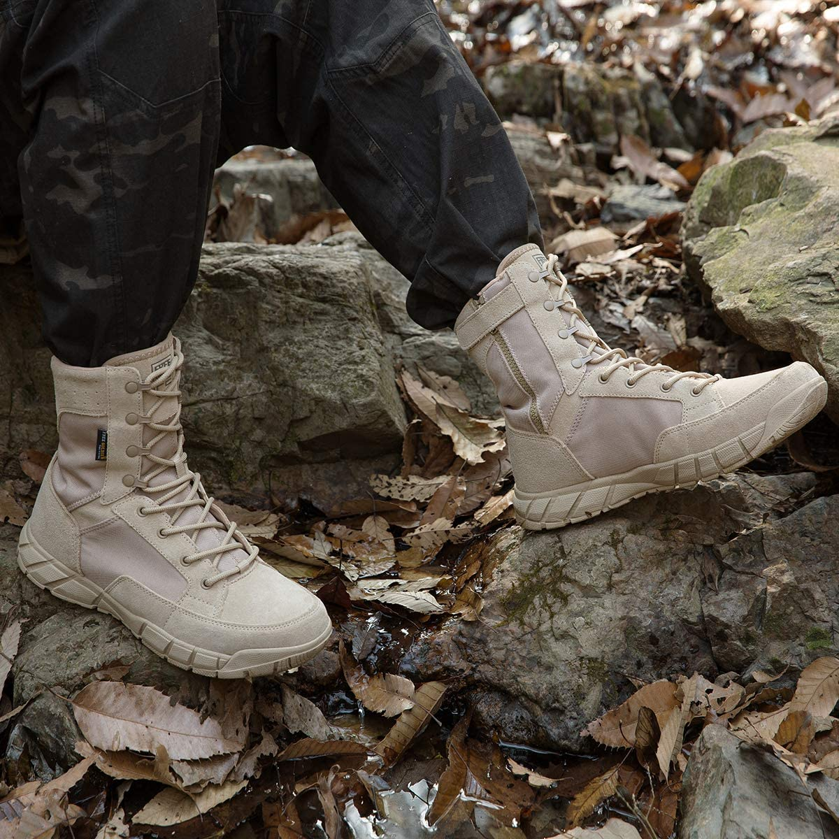 Free Soldier Military Tactical Boots