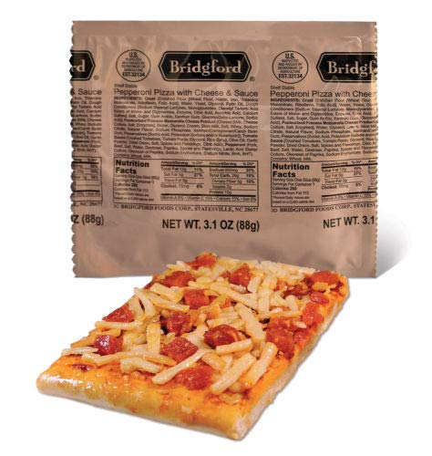Bridgford Pepperoni Pizza With Cheese
