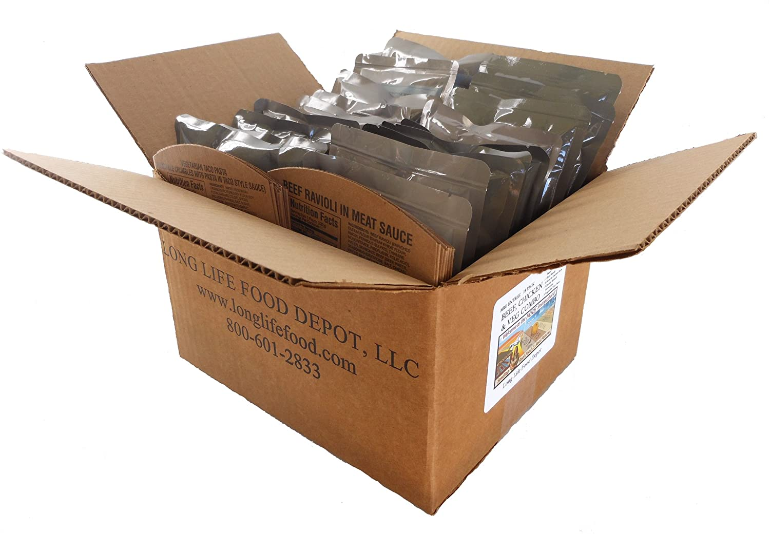 MRE Food Supply Chicken and Beef